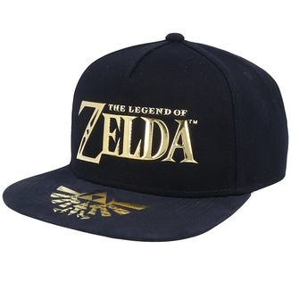 The Legend Of Zelda Metallic Logo Snapback Cap