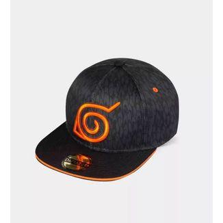 Gorra Snapback Konoha Logo Naruto