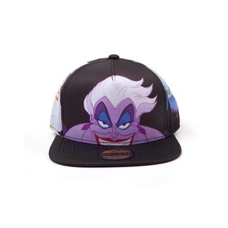 Ursula Snapback Cap Little Mermaid