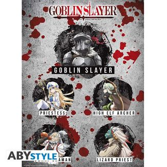 Characters Goblin Slayer Poster 52 x 38 cms