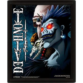 Poster Death Note Efecto 3D 26 x 20 cms