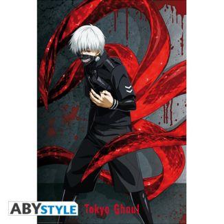 Ken Kaneki Tokyo Ghoul Poster 91.5 x 61 cms