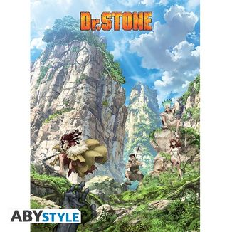 Stone World Poster Dr Stone 52 x 38 cms
