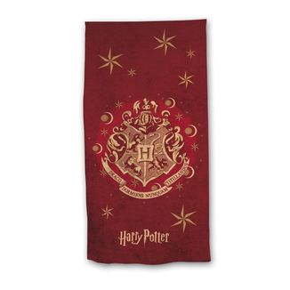 Hogwarts Crest Microfiber Towel Harry Potter 70 x 140 cms