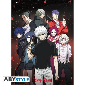 Poster Grupo Tokyo Ghoul 52 x 38 cms