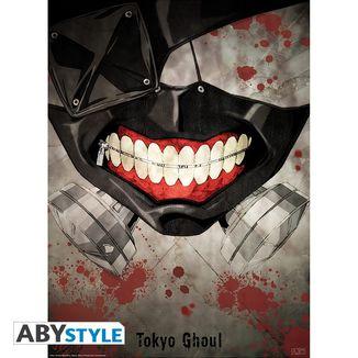 Kaneki Mask Poster Tokyo Ghoul  52 x 38 cms