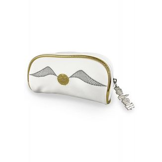 Golden Snitch Makeup Bag Harry Potter White
