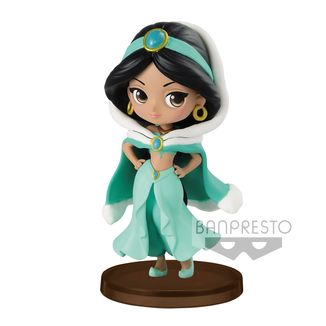 Figura Jasmine Winter Costume Disney Q Posket Petit Girls Festival