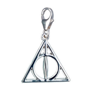 Deathly Hallows Silver Necklace Harry Potter