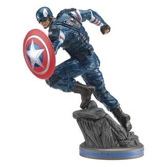 Figura Capitan America Vengadores 2020 Video Game Marvel Comics