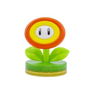 Lampara 3D Flor de Fuego Icon Light Super Mario Nintendo