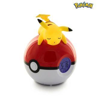 Lampara Despertador Pikachu Pokemon 15 cm