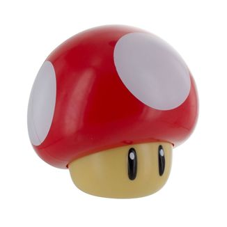 Red Mushroom Super Mario 3D Lamp with sound