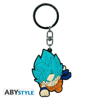 Goku SSGSS ABYstyle Keychain Dragon Ball Super