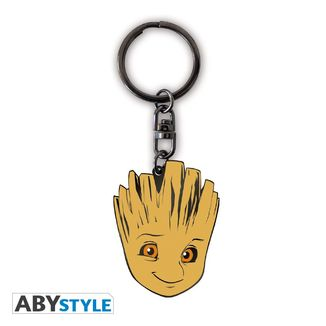 Groot Metallic Keychain Guardianes de la Galaxia Marvel Comics