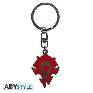Horde Silhouette Keychain World Of Warcraft