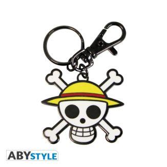 Mugiwara Luffy Mugiwara Skull Keychain One Piece