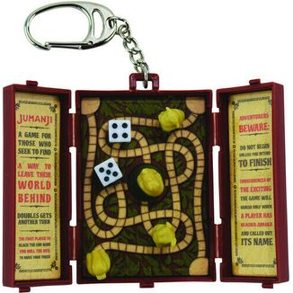 World's Coolest Jumanji Board Keychain