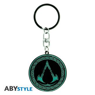 Valhalla Crest Assassin's Creed Keychain