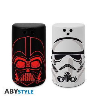 Salero y Pimentero Darth Vader & Stormtrooper Star Wars
