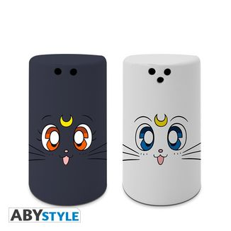 Luna & Artemis Salt & Pepper Shakers Sailor Moon