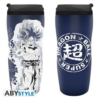 Goku Ultra Instinct Travel Mug Dragon Ball Super