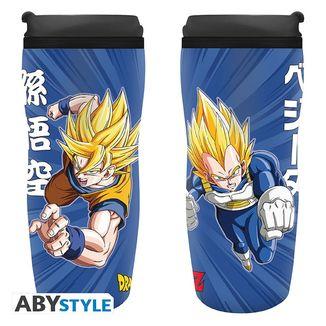 Vaso de Viaje Goku y Vegeta Dragon Ball