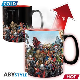 Marvel Heroes Heat Change Mug Marvel Comics