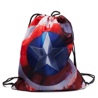 Bolso GYM Capitán América Escudo Marvel Comics