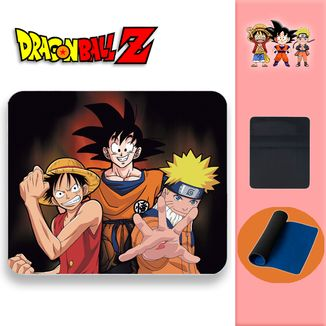 Alfombrilla Dragon Ball Z - Goku Luffy Naruto
