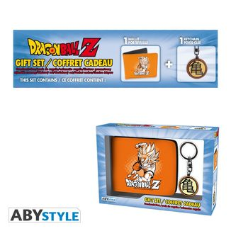 Wallet and Keychain Kanji Dragon Ball Z Pack