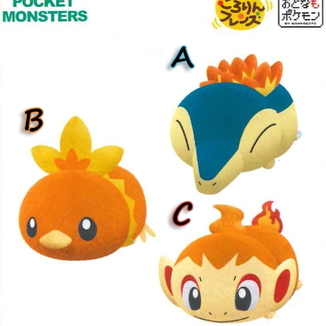 Plush Doll Cyndaquil Torchic y Chimchar Pokemon Kororin Friends
