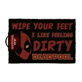 Feeling Dirty Deadpool Marvel Comics Doormat