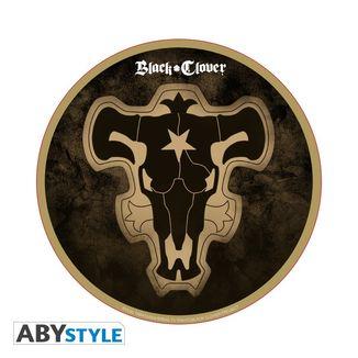 Black Bull Emblem Mousepad Black Clover