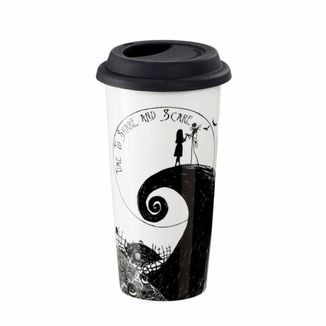 Time To Share And Scare Travel Glass Nightmare Before Christmas
