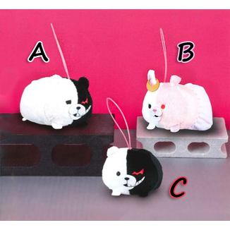 Mini Plush Doll Monokuma & Monomi  Dangan Ronpa 3