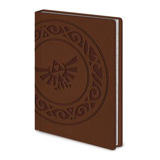 Libreta Trifuerza Tribal The Legend of Zelda