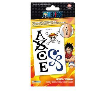 Lámina de Tatuajes One Piece