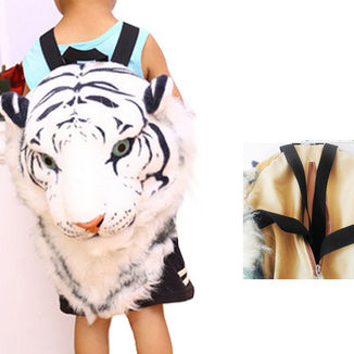 Bag White Tiger Head