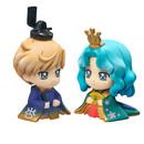 Figura Hinamatsuri Haruka & Michiru Sailor Moon Petit Chara Set