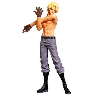 Figura One Piece - Sabo Special Color ver - The Naked 2017 Body Calendar vol 3