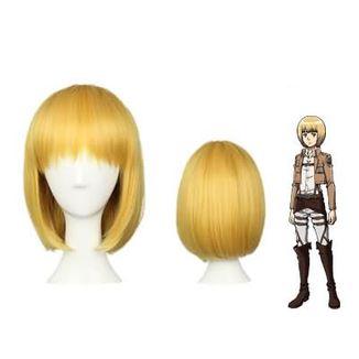 Peluca Armin Ataque a los Titanes