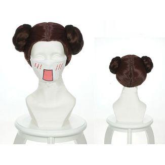 Peluca Leia Star Wars