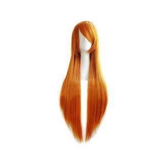 Peluca Naranja 80 cms