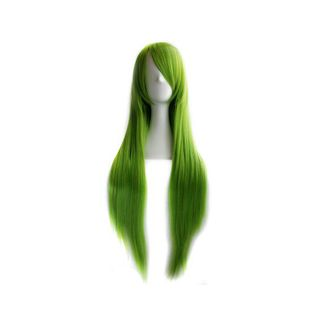 Peluca Verde 80 cms