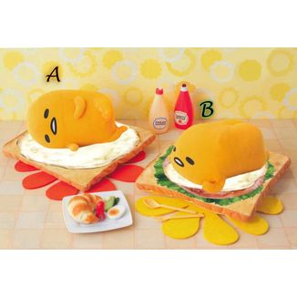 Plush Doll Gudetama Sandwich