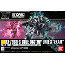 Model Kit Blue Destiny Unit 3 Exam 1/144 HG Gundam