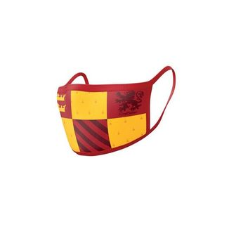 Gryffindor Harry Potter Mask Pack of 2 fabric masks