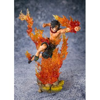Figuarts Zero Portgas D Ace Commander of the 2nd Division One Piece