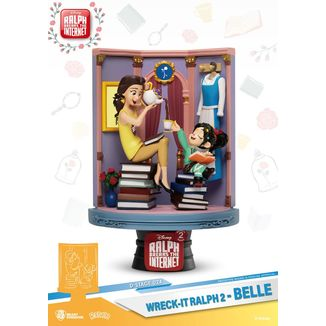 Belle & Vanellope Figure Ralph Breaks Internet D-Stage